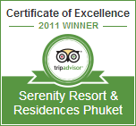 Tripadvisor Certificate of Excellence Award 2011