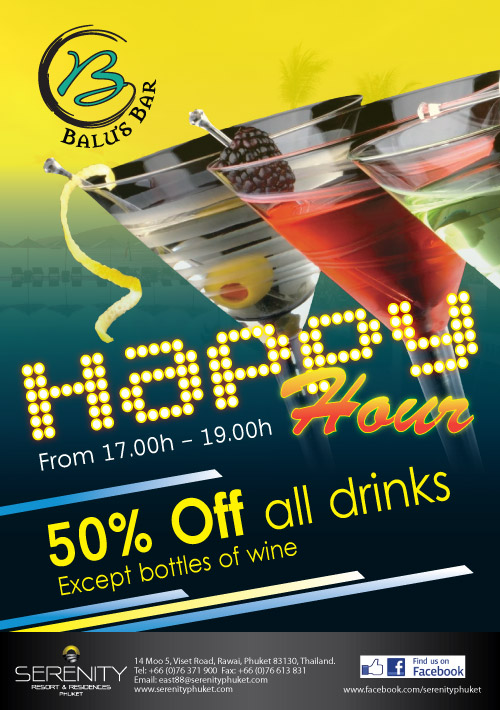 Happy Hour at Balu's Bar