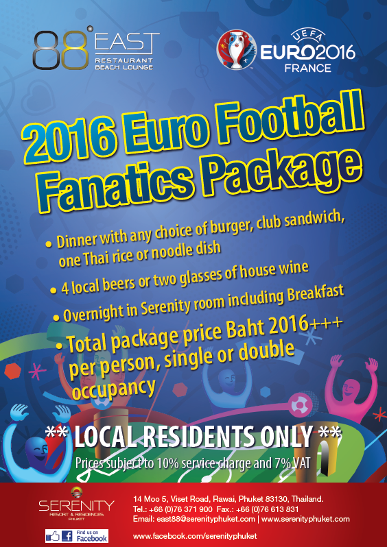 Euro 2016 Football Fanatics package for local residents