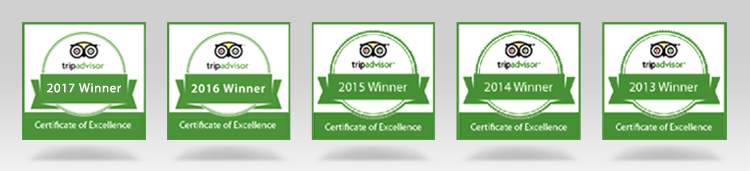 Tripadvisor Awards for Serenity Phuket