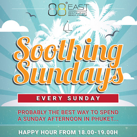 Soothing Sundays - Every last Sunday of the month