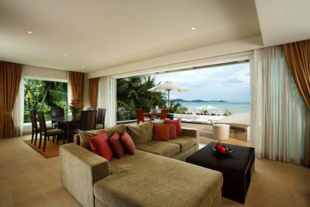 Penthouse Seaview suite