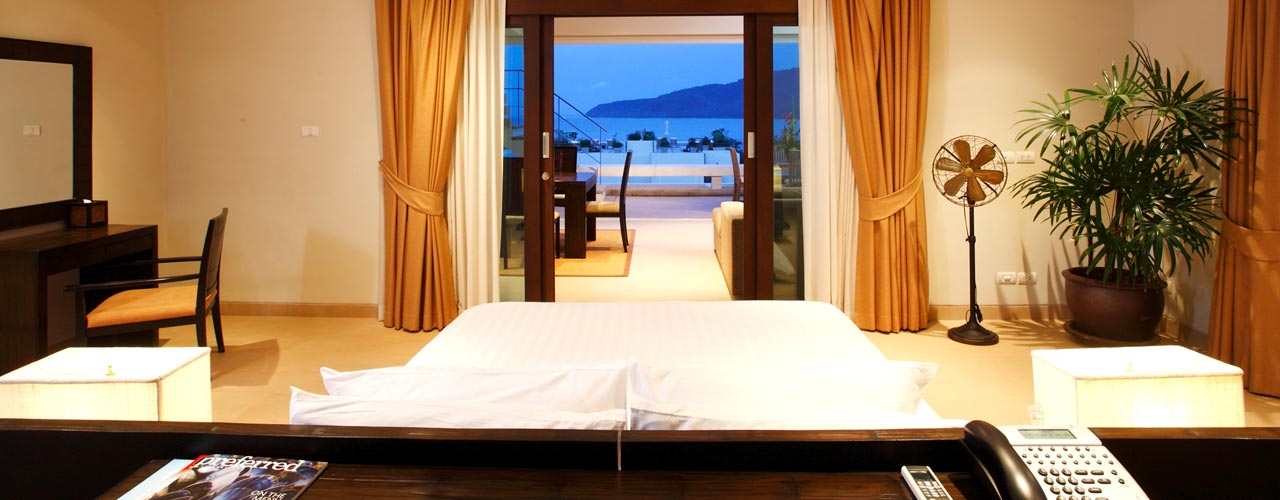 H20 1 bedroom seaview suite with private swimming pool