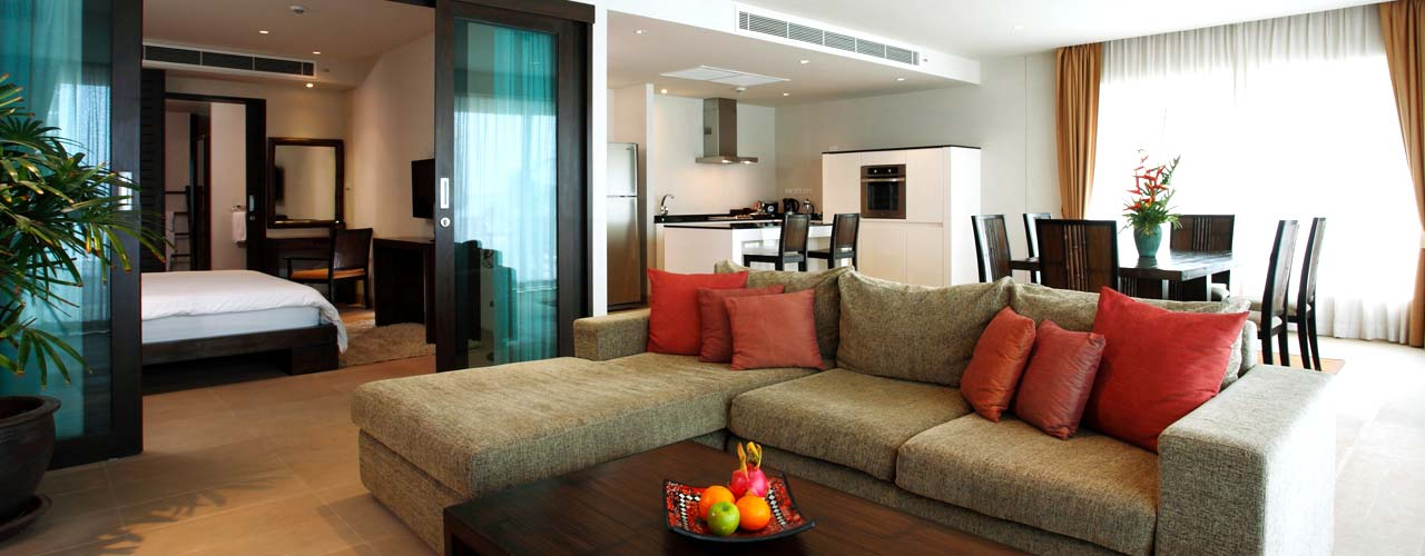 Penthouse seaview suite with sea view
